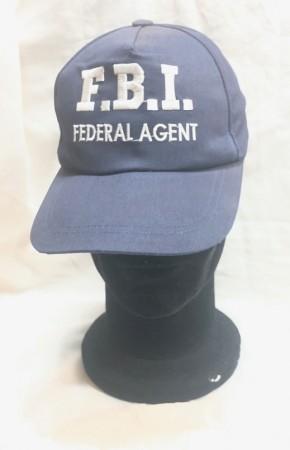 Berretto Baseball Cappello FBI Federal Agent Agente Federale Art. FBI-A
