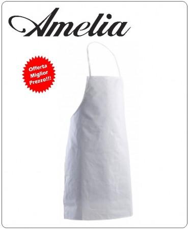 Parannanza con Pettorale Senza Tasca 100% Cotone By Amelia Primo Prezzo per Scuola Alberghiera Art.AMELIA-6