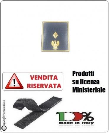 Gradi Plastificati Nuovo Modello 2019 Polo Giacca Giubbino Polizia di Stato PS con Velcro Vice Sovraintendente Art.V-PS-6