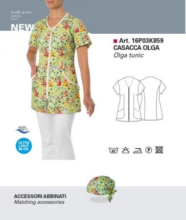 Casacca Donna Manica Corta Cane & Gatto Giblor's Art.16P03K859C