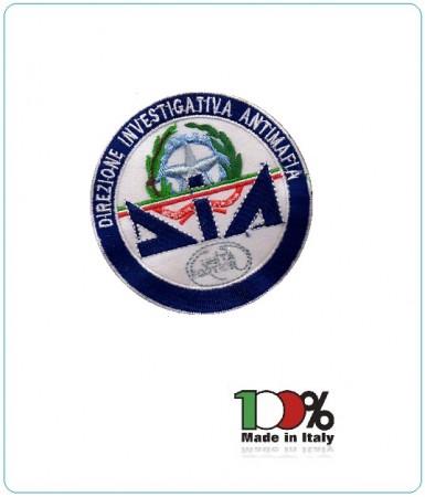 Patch Toppa Ricamata con Velcro D.I.A. Polizia di Stato Art.PS-DIA