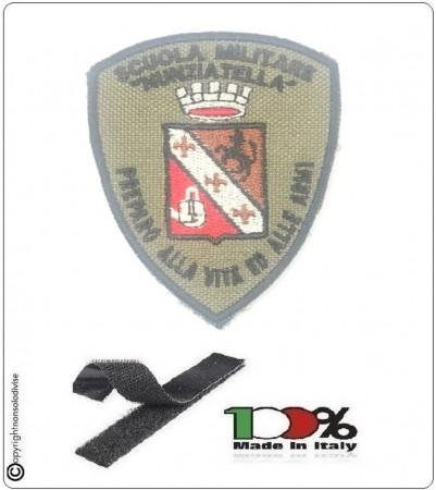 Patch Scudetto Ricamo a Macchina Con Velcro Scola Militare NUNZIATELLA - Preparo alla Vita e Alle Armi Art.NSD-NU