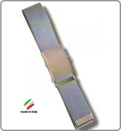 Cintura Canapa Grigia Fibbia a Scatola cm 120  Art.SBB-G-120