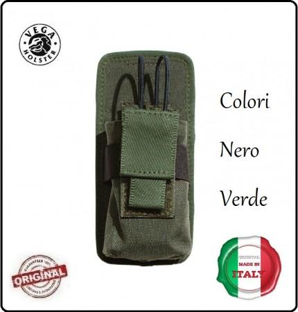 Porta Radio Universale con Attacco Velcro Vega Holster Italia  Art.2SM20
