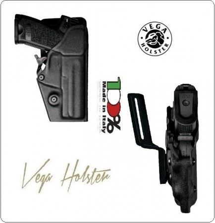 Fondina Professionale Termo Formata Vegatek Pro Vigilanza Polizia Carabinieri Vega Holster Italia Art.VKP8