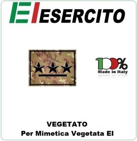 Gradi con Velcro Vegetati Esercito Italiano Primo Capitano Art.EI-VEG-1