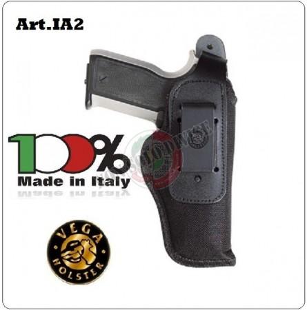 Fondina da Cintura Interna ed Esterna Professionale Borghese Cordura Vega Holster Italia Art. IA263