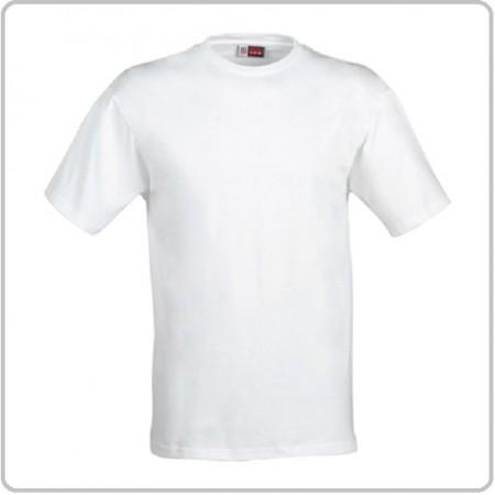 T-shirt Maglia Girocollo Manica Corta Bianca  Art.00722L