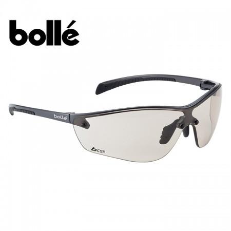 Occhiali Occhiale Professionale Bollé Platinium Silium+ Fume Poligono Polizia Carabinieri Vigilanza GPG IPS Art. 256517