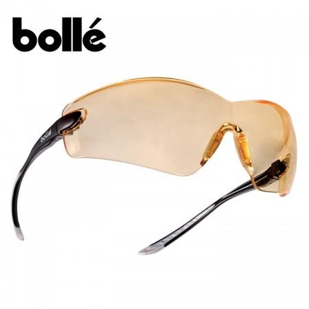 Occhiaia Protezione Lente Gialla Bollé Platinium COMBRA COBPSI Poligono Tiro Sanitario Certificato CE EN166-EN170 Art. 256518