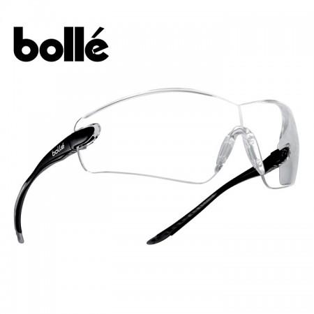 Occhiaia Protezione Lente Trasparente Bollé Platinium COMBRA COBPSI Poligono Tiro Sanitario Certificato CE EN166-EN170 Art. 256520