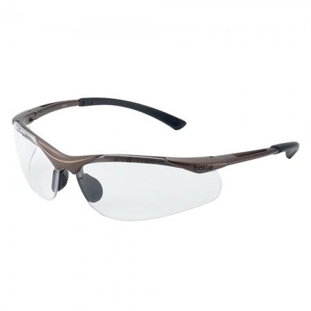 Occhiali Occhiale Professionale Bollé Contour (CONTPSI) chiari Poligono Polizia Carabinieri Vigilanza GPG IPS Art. 256536