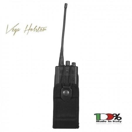 Porta Radio Universale 2R03 in Cordura Vega Holster Tutti i Colori Polizia Carabinieri Vigilanza GPG IPS Art. 2R03