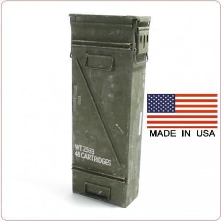 Cassa Porta Munizioni US grande 120MM Cartridges Art.4653095
