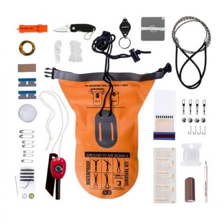 Survival kit Stango Waterproof CK050 BCB Caccia Pesca tempo libero Escusioni Art. 469477