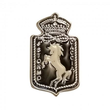 Distintivo Spilla da Camicia o Giacca Aeronautica Militare 4° Stormo Prodotto Ufficiale Art.AM0160P4ST