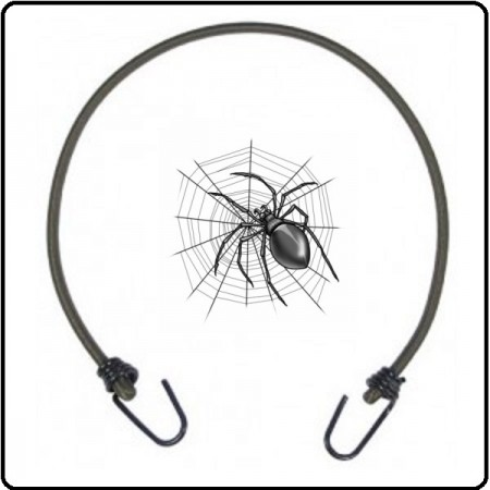 Corda Elastica Bungees Ragno Elastico Militare Blocca Pacchi o Casse Art.419200