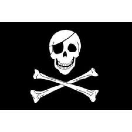 Bandiera Pirati 100x150  Eco Art.Eco-Pirati