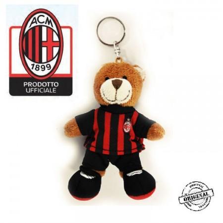 Portachiavi Orsetto Calcio Milan H Cm Art