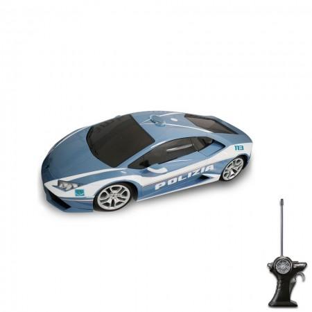 Modellino Maisto diecast in scala 1: 24 Polizia di Stato Lamborghini HURACAN Prodotto Ufficiale Collezionismo Idea Regalo Art. PS.390823LAMP