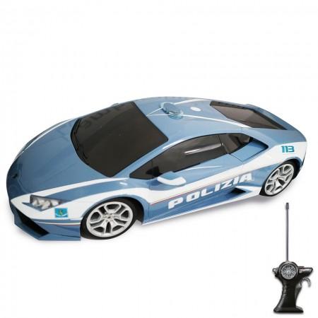 Modellino Maisto diecast in scala 1: 14 Polizia di Stato Lamborghini HURACAN Prodotto Ufficiale Collezionismo Idea Regalo Art. PS.390827LAMG