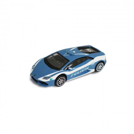 Modellino Burago diecast in scala 1: 43 Polizia di Stato Lamborghini Prodotto Ufficiale Collezionismo Idea Regalo Art. PS.920653LAM