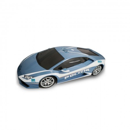 Modellino Burago diecast in scala 1: 24 Polizia di Stato Lamborghini Prodotto Ufficiale Collezionismo Idea Regalo Art.  PS.920655LAM