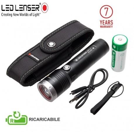 Torcia Tattica Professionale 1000 lm Novità LED Lenser® MT14 RICARICABILE Polizia Carabinieri Guardie Giurate GPG IPS Art. 500844