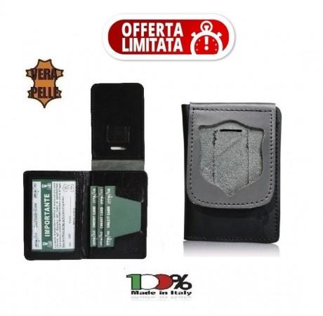 Portafoglio Portadocumenti Senza Placca PS Polizia di Stato LIBERA VENDITA NSD Italia New 1WD86 OFFERTA LIMITATA Art. 1WD86OFF