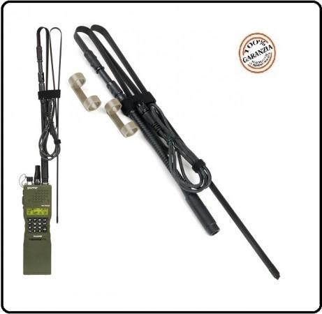 Antenna per  PRC-152 Dummy Radio Simulacro per Soft Air Giochi di Guerra Rievocazioni  Art.464220