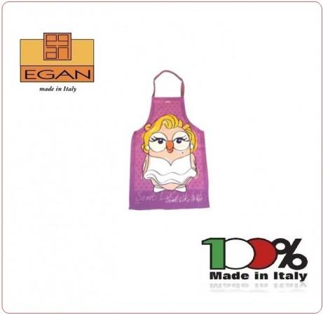 Grembiule Cucina Cuoco Chef Idea Regalo GOOFI MARYLIN EGAN Art.TML63/05MM