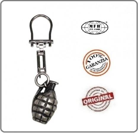 Portachiavi Porta Chiavi  Militare a Forma di Granata Americana MFH Art.28220A