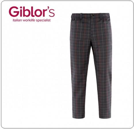 Pantalone Pants Hose New Cuoco Chef Alimentarista Cronos Giblor's Art.19P08P110