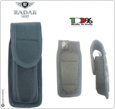 Porta Caricatore Nero Bifilare in Nylon Tritech Radar 1957 Italia Universale Beretta Glock Colt Polizia Carabinieri Vigilanza Art. 4M05-1001