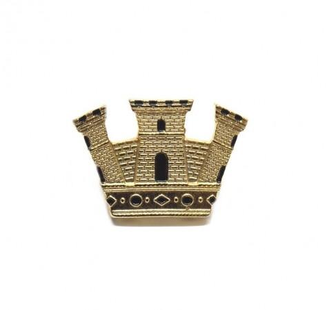 Grado Corona Turrita da Ufficiale Oro Torre Oro  Art. TORRE