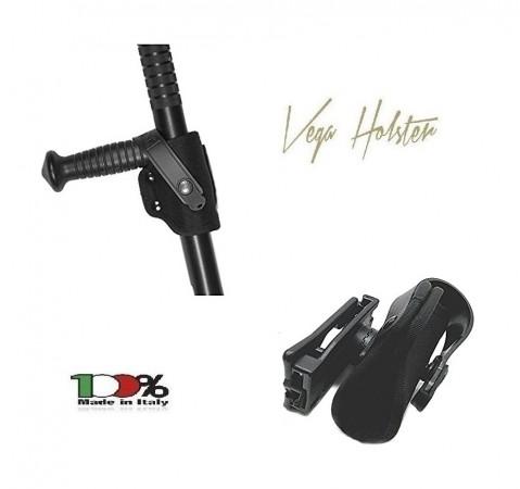 Porta Bastone Tonfa in Cordura Polizia Carabinieri Vigilanza GPG IPS Vega Holster Italia MIX T-HOLDER Art. 1V19