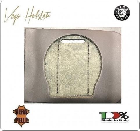 Supporto per Placca Cuoio Da Inserire Al Portafoglio Carabinieri CC 1WG Vega Holster Italia Art. 1WG-04