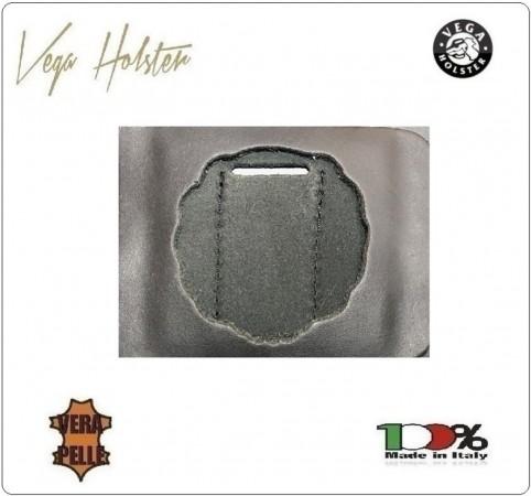 Supporto per Placca Cuoio Da Inserire Al Portafoglio Polizia Penitenziaria 1WG Vega Holster Italia Art. 1WG-10
