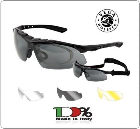 Occhiale Occhiali Poligono Tiratore Legend  Vega Holster Italia art.VEW05