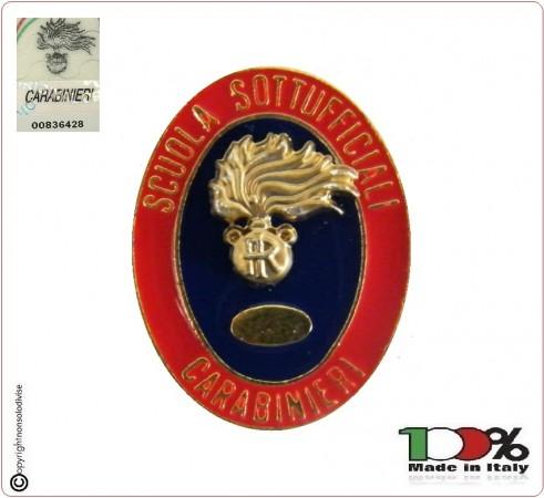 Distintivo Spilla Scuola Sottufficiali Carabinieri Prodotto Ufficiale Art.C13