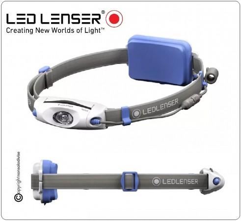 Torcia Frontale Ricaricabile LED LENSER NEO6R 240 lm blu Art.500918