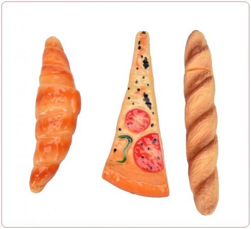 Penna Calamita a Forma di Brioches Pane Pizza Idea Regalo Art.PBP-1