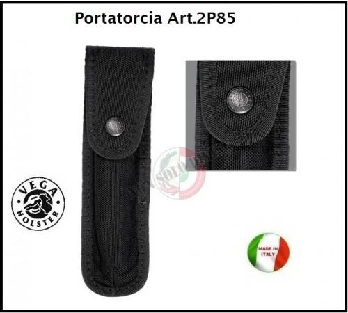 Portapila Porta Pila Professionale per Cinturone Cordura Nera Vega Holster Italia Art.2P85