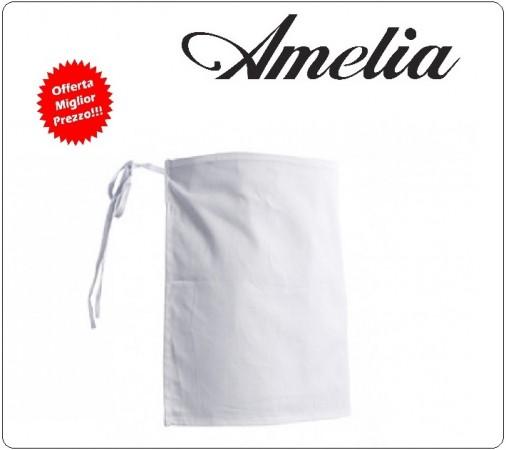 Grembiule Parannanza Senza Tasca 100% Cotone By Amelia Primo Prezzo per Scuola Alberghiera Art.AMELIA-7