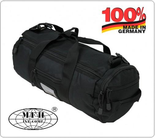 Sacca Zaino Borsa Nera Militare Sistema Molle MFH Germany Art.30652A