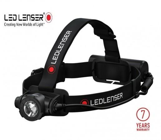Torcia Tattica Professionale Frontale 350 lumen H5 Core Led Lenser® Soccorso Corsa Speleologia Art. 502121