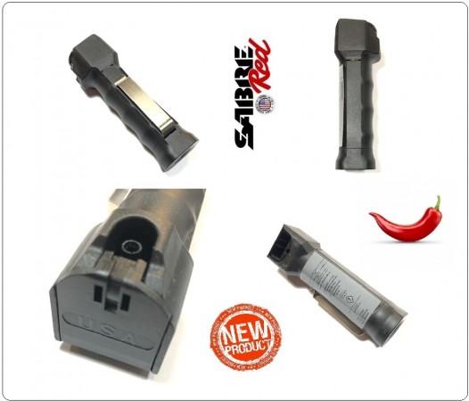 Spray al Peperoncino SABRE Red MK-22 Police Nero  Certificato per L'Italia Libera Vendita Libero Trasporto Professionale Art. MK-22