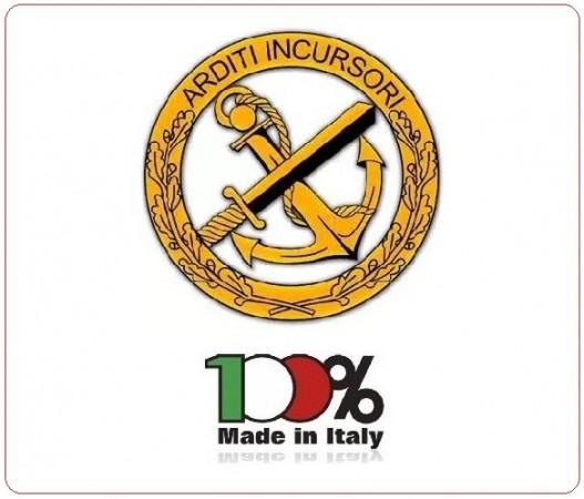 Adesivo o Vetrofania Arditi Incursori Marina Militare Italiana Prodotto Italiano Art.DESA-ARDITI