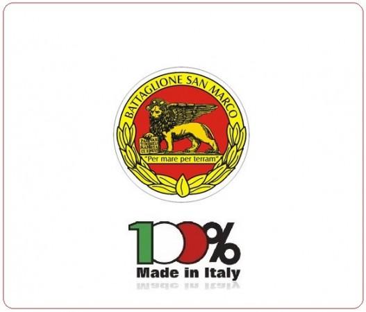 Adesivo o Vetrofania BTG San Marco Battaglione Lagunari Venezia Prodotto Italiano Art.DESA-BTG