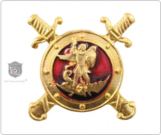 Spilla Pins Distintivo Meriti Straordinari Guardie Giurate GPG IPS Novità ENCOMIO STRAORDINARIO  Art. 636046